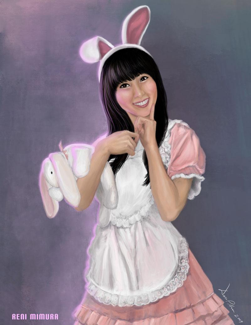 Digital Painting of Reni Dara_Phan-Reni_Mimura